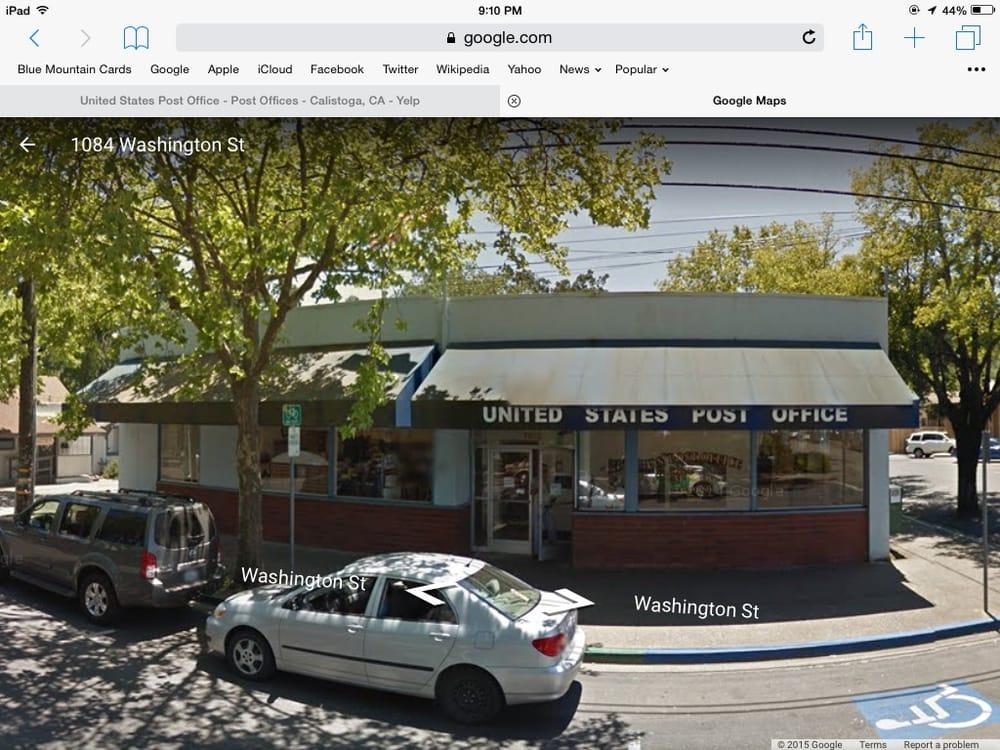 US Post Office: 1013 Washington St, Calistoga, CA