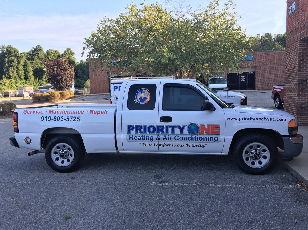 Priority One Heating Air Conditioning Closed Hvac Garner Nc Phone Number Yelp
