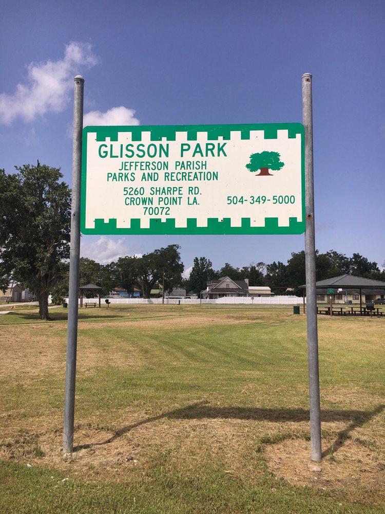 Glisson Park: 5260 Sharpe Rd, Marrero, LA