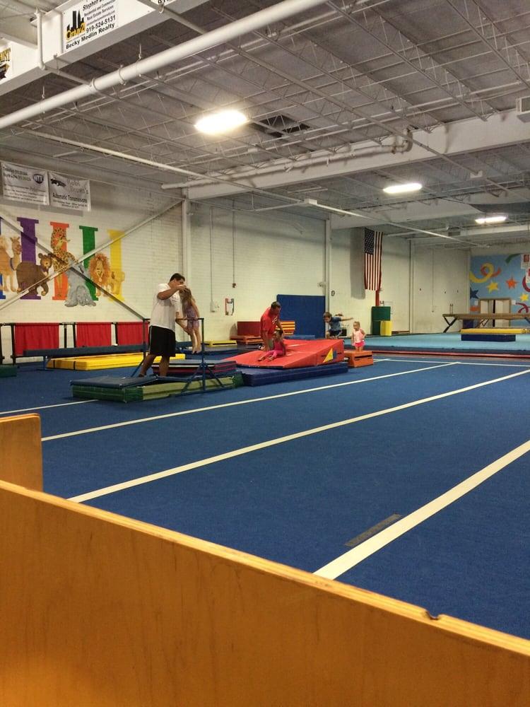 Langley Gymnastics: 174 W Smithfield St, Angier, NC