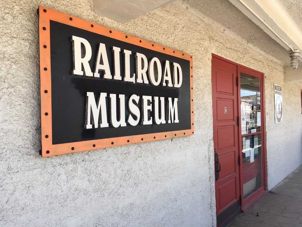 Kingman Railroad Museum: 402 E Andy Devine Ave, Kingman, AZ