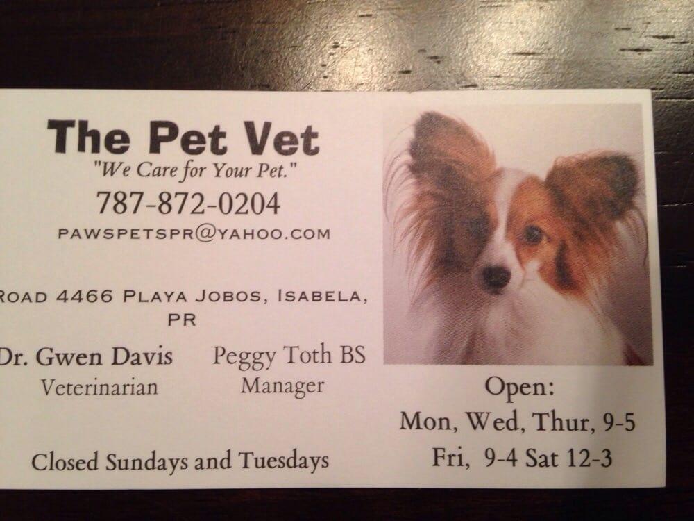 The Pet Vet: Carr. PR- 4466 S/N, Isabela, PR
