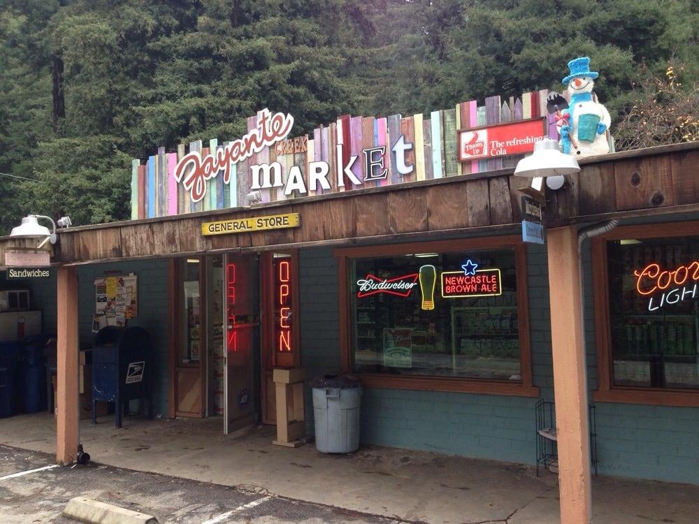 Zayante Creek Market & Deli: 9210 E Zayante Rd, Felton, CA