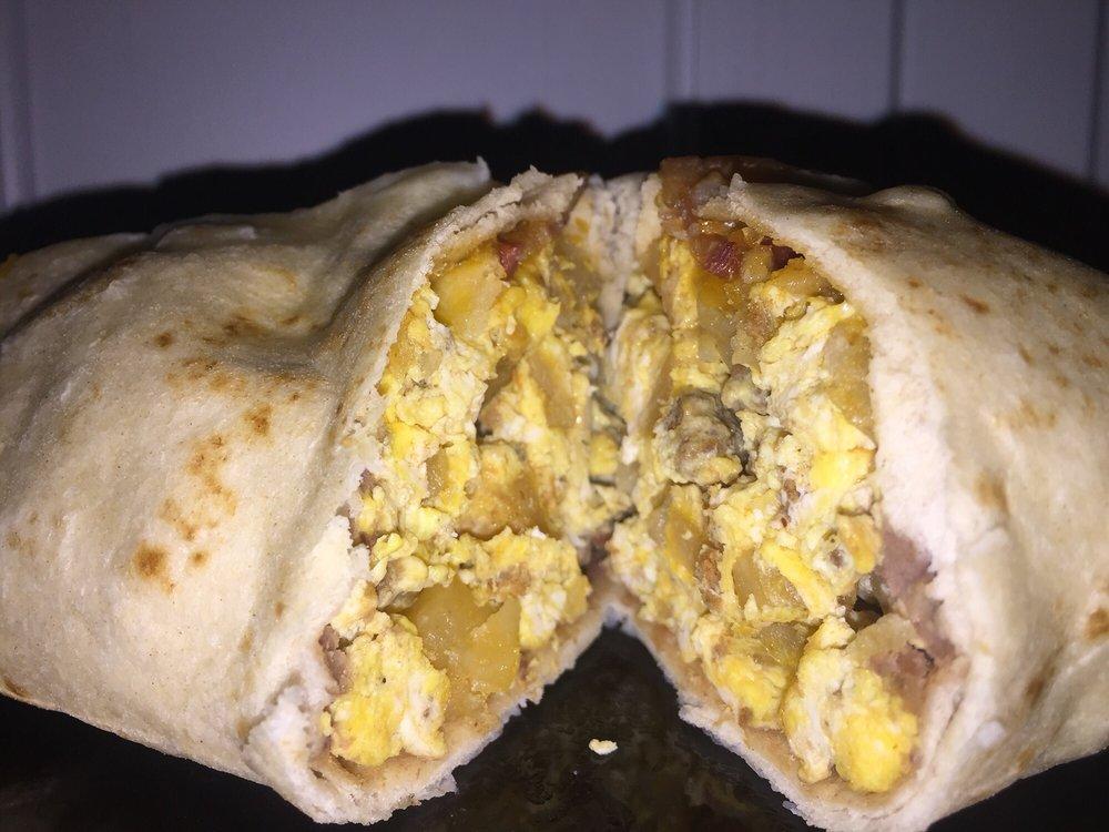 Food from Bronco Burritos Texas City