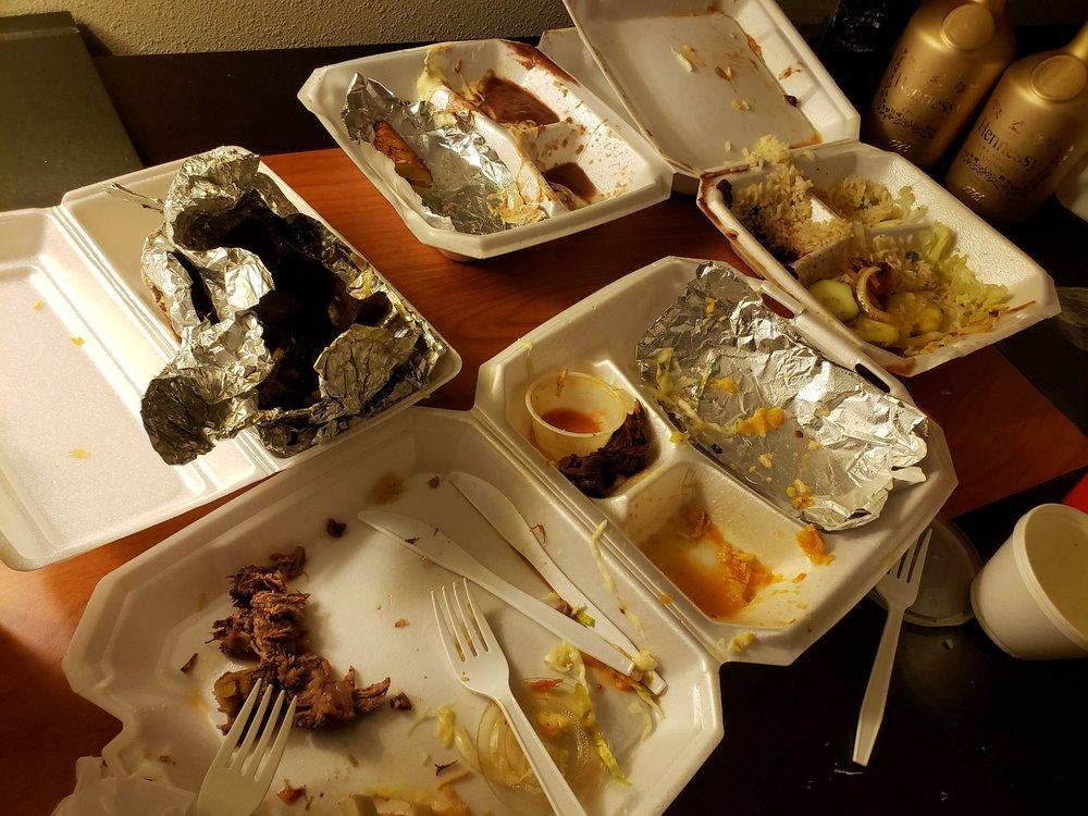 Food from Centro American Restaurant & Pupuseria