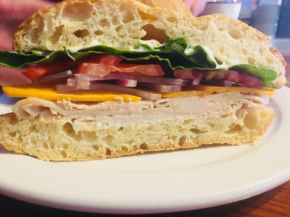 Turkey Sandwich Best Italian Rtp Lunch Durham Lunch Raleigh