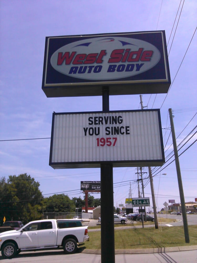West Side Auto Body Repair: 1305 Fort Campbell Blvd, Clarksville, TN