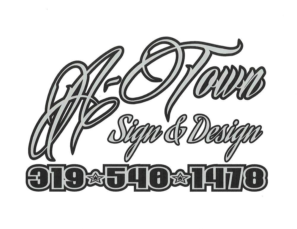 A-Town Sign & Design: 201 N McNamara Dr, Anamosa, IA