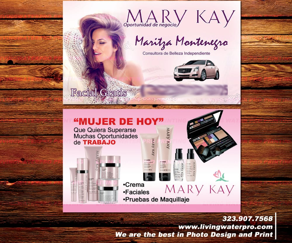 Business Cards Printing For Mary Kay Herbalife Amway