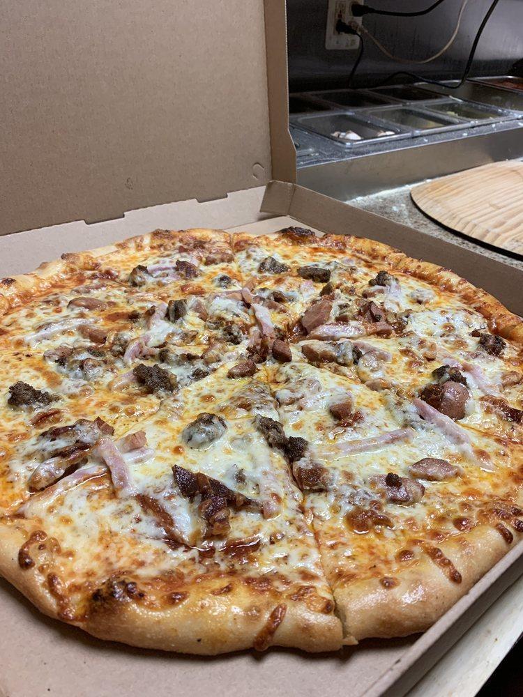 The Savory Stone Brick oven Pizza: 636 W Adrian Hwy, Blissfield, MI