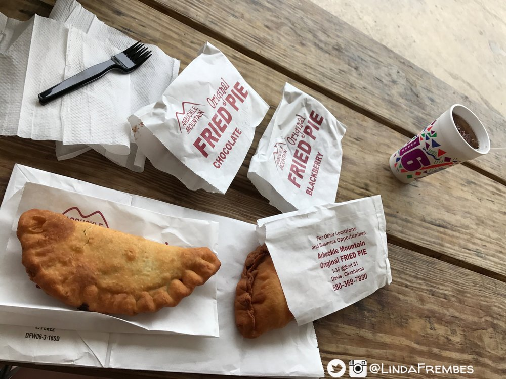 Arbuckle Mountain Fried Pies: 4145 US-77, Davis, OK