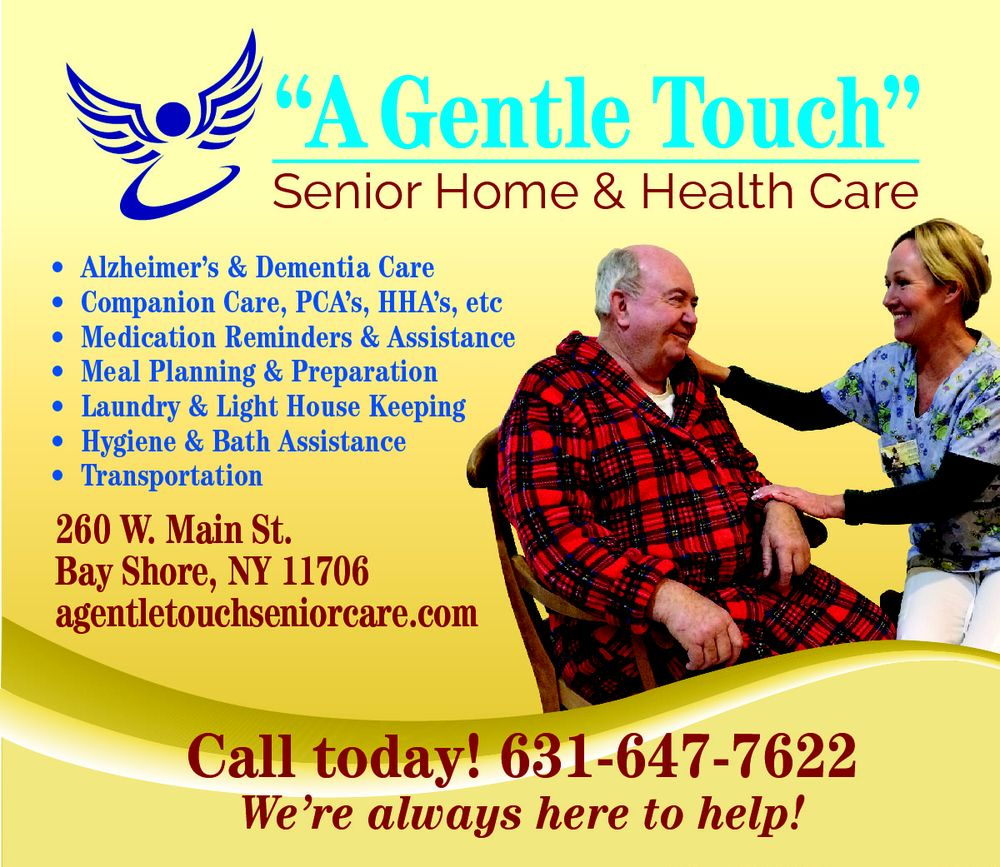 A Gentle Touch Senior Home & Health Care: 260 W Main St, Bay Shore, NY
