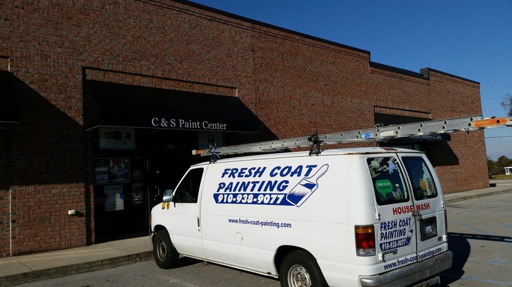 C & S Paint Center: 520 Cedar Point Blvd, Cedar Point, NC