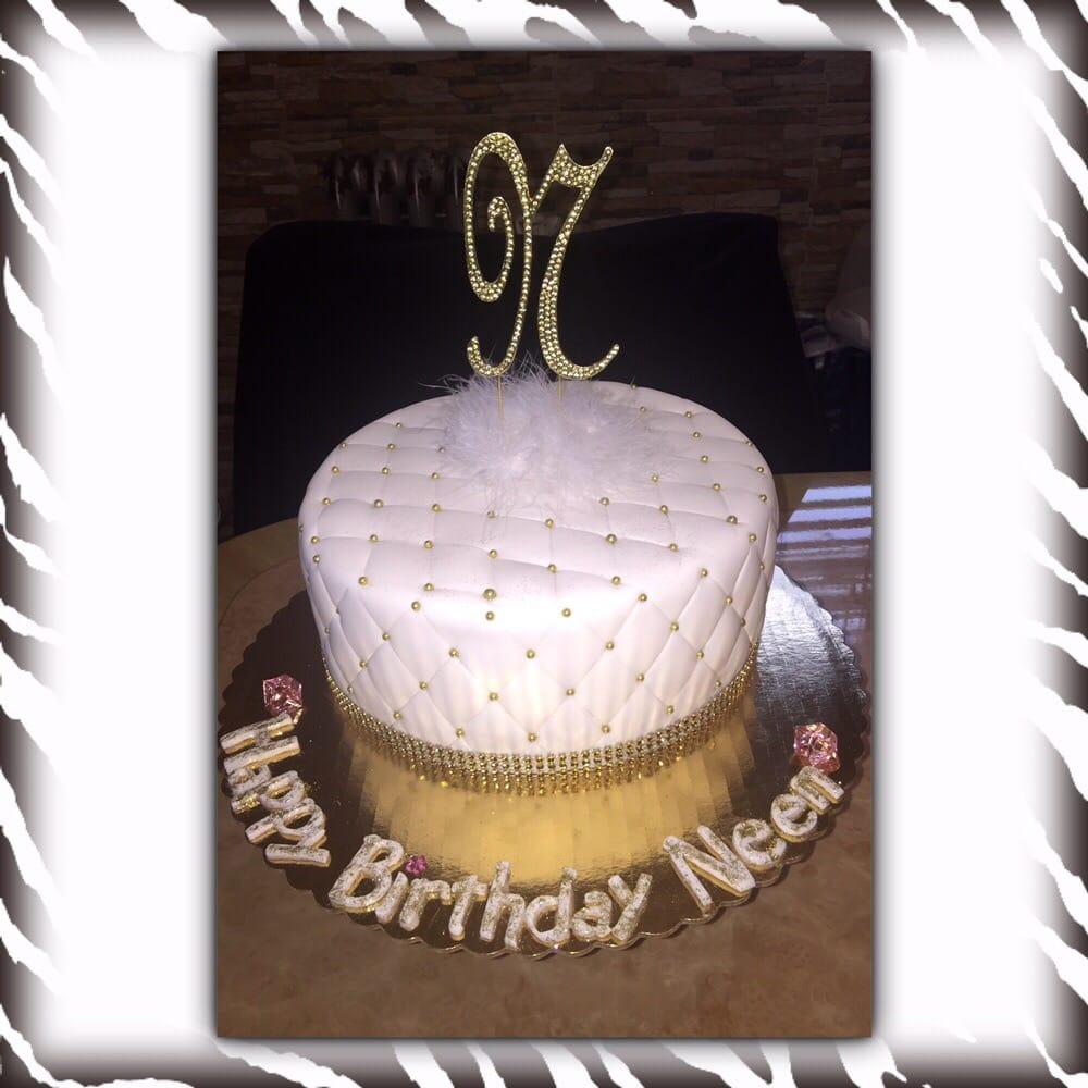 Diamond Quilted Bling Birthday Cake Yelp