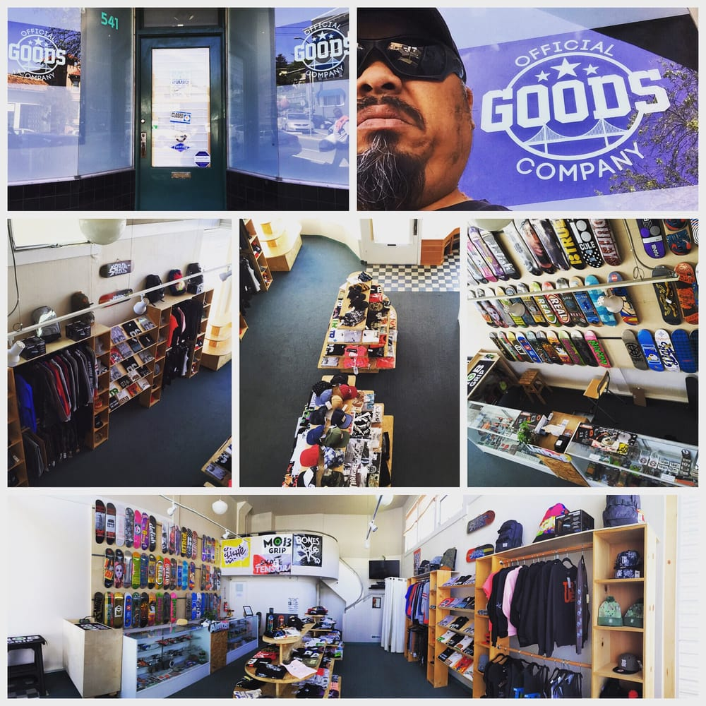 Official Goods Company: 541 Georgia St, Vallejo, CA