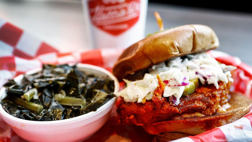 Food from Hattie B's Hot Chicken - Memphis