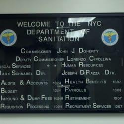 New York Department of Sanitation - Public Services