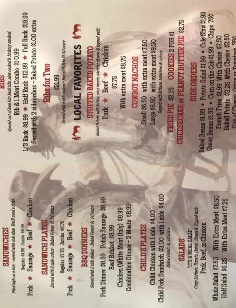 Cowboys BBQ: 4101 Harrison St, Batesville, AR
