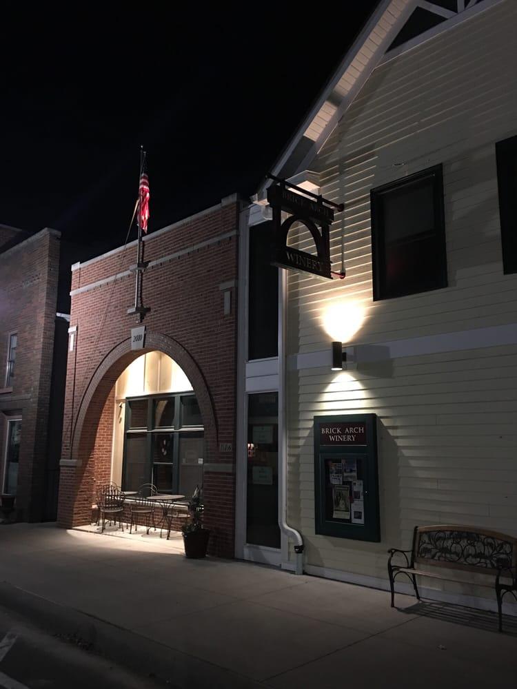 Brick Arch Winery: 116 W Main St, West Branch, IA