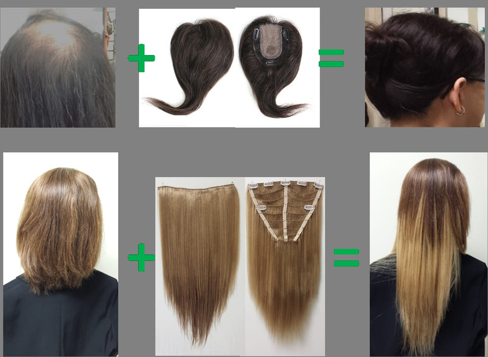 Do you have thinning hair? We have hair pieces! Do you ...