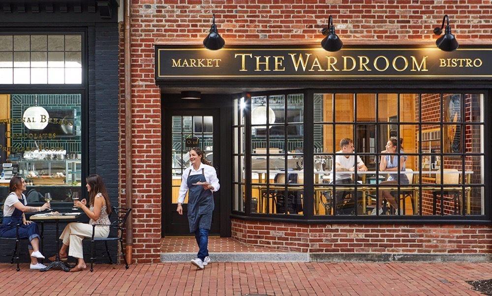 The Wardroom Market Bistro: 103 N Washington St, Easton, MD