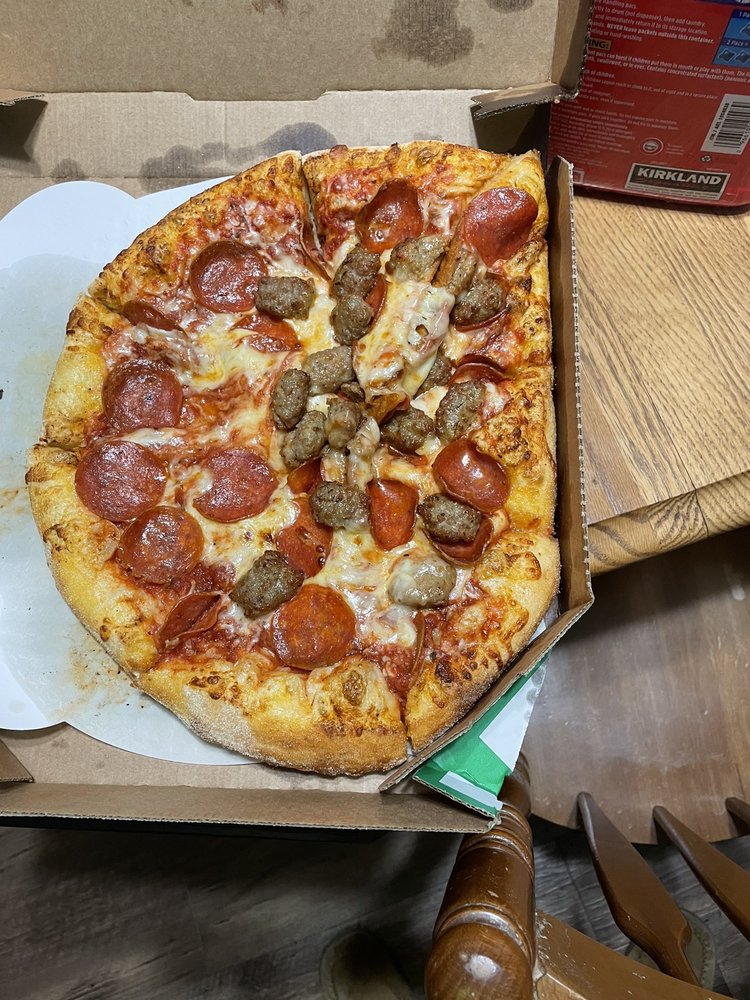 Marco's Pizza: 1250 4th Ave NW, Minot, ND