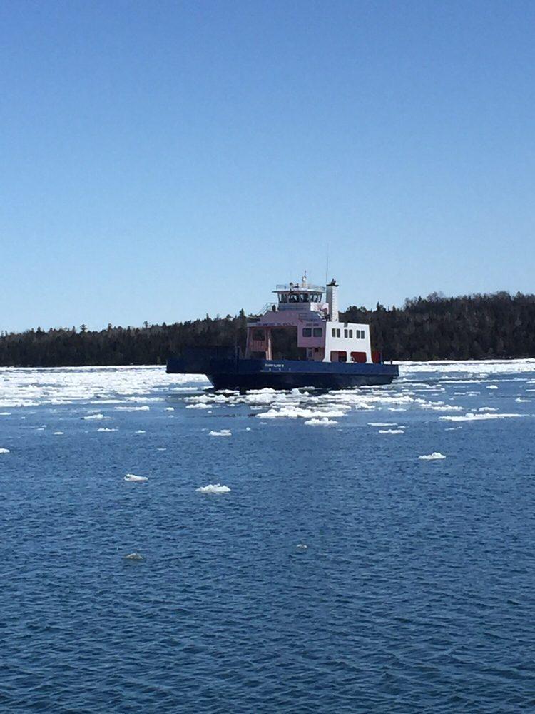 Drummond Island Ferry: 113 N Huron St, De Tour Village, MI