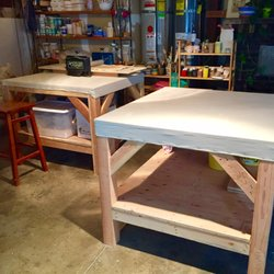 Photo Of X?X Gallery And Art Studio   San Francisco, CA, United. Work Tables  ...