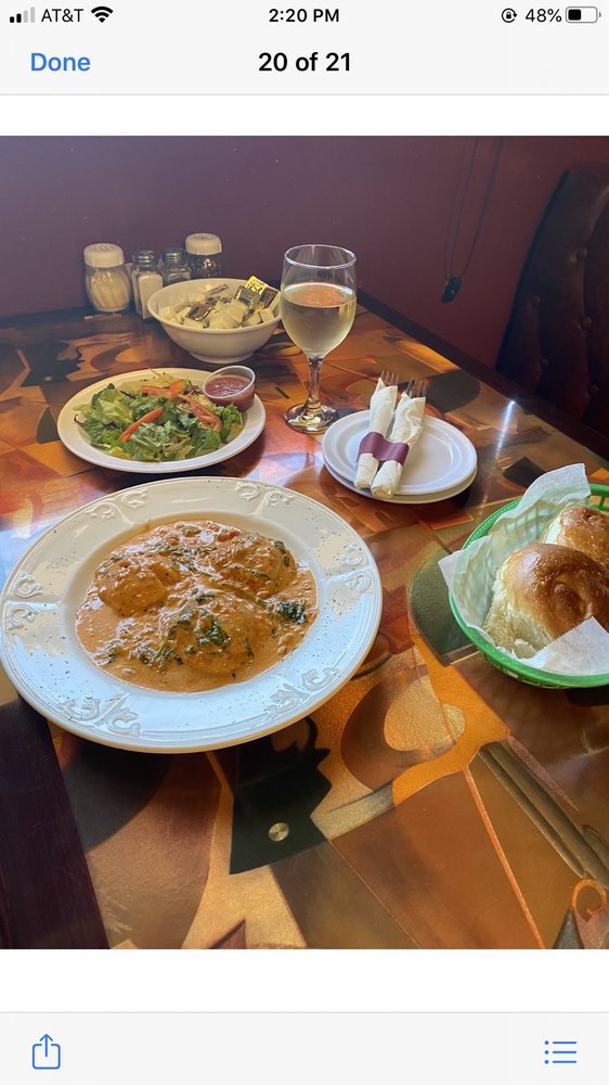 Napoli's Italian Restaurant: 4 S Commerce St, Ardmore, OK
