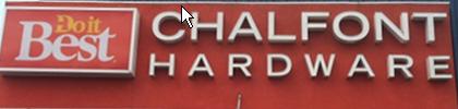 Chalfont Hardware