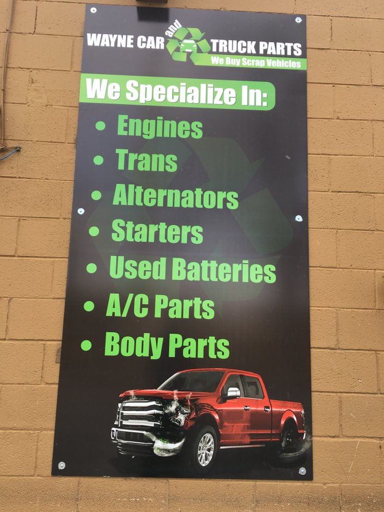 Wayne Car and Truck Parts - Get Quote - Auto Parts & Supplies ...