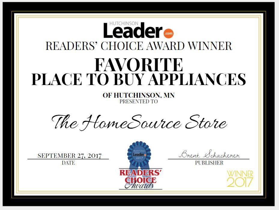 The HomeSource Store: 1130 Hwy 7 W, Hutchinson, MN