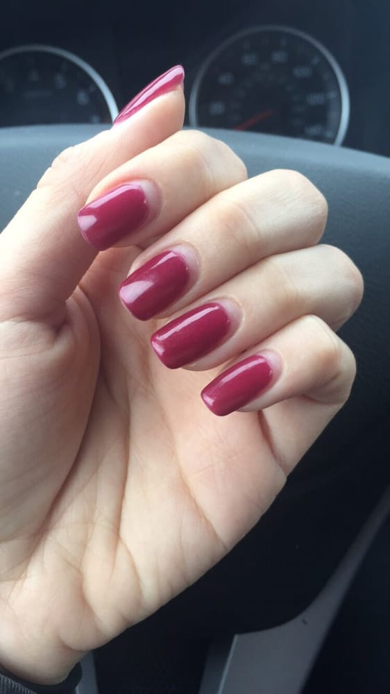 SNS manicure after 4 weeks. Nails grew out but no chipping or ...