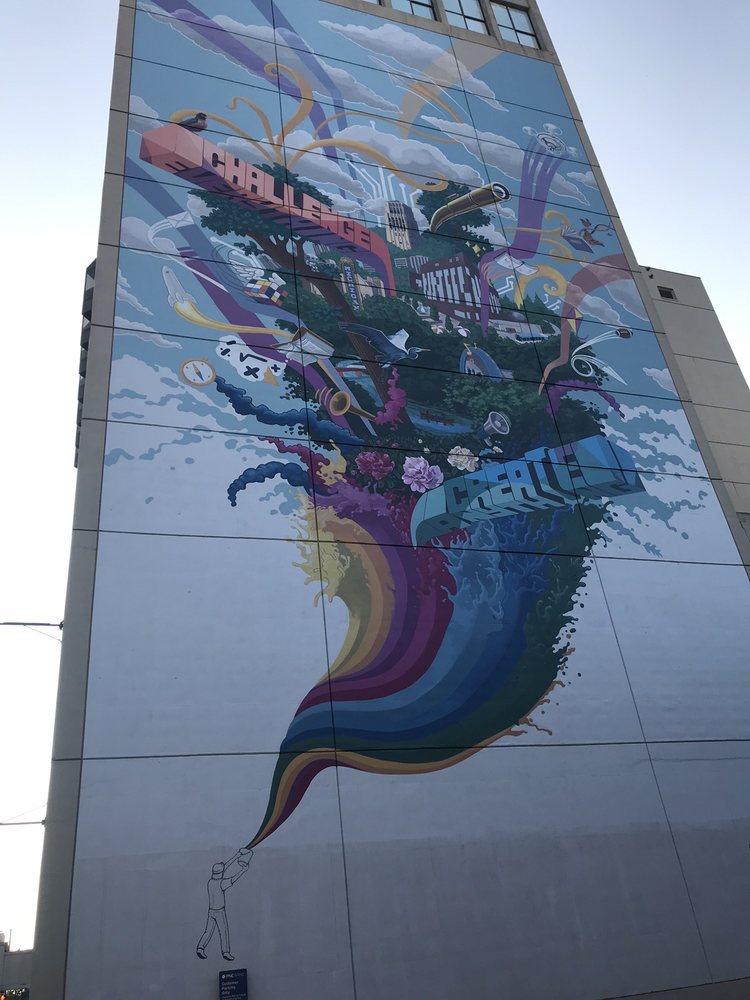 Alley Art 2: University Ave, Ann Arbor, MI