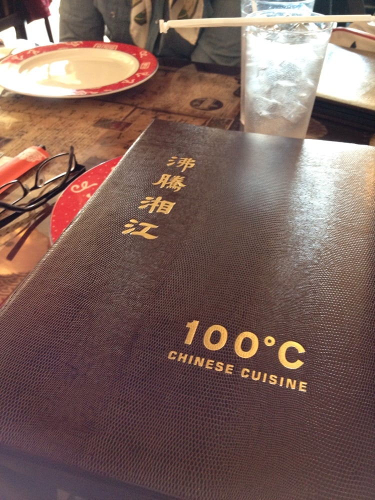 Menu yelp for 100 degree chinese cuisine