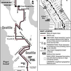 Metro Transit Route 124 Public Transportation 201 S Jackson St