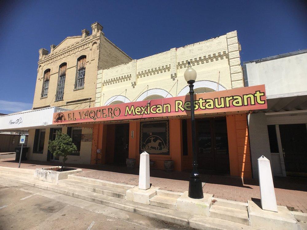 El Vaquero: 114 N La Grange, Hallettsville, TX