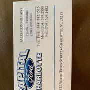Capital Ford Charlotte >> Capital Ford Of Charlotte 11 Photos 47 Reviews Body Shops