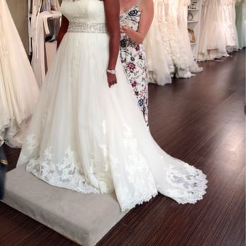 Photo Of Magnolia Bridal Boutique   San Diego, CA, United States. Kaitlin  Helping