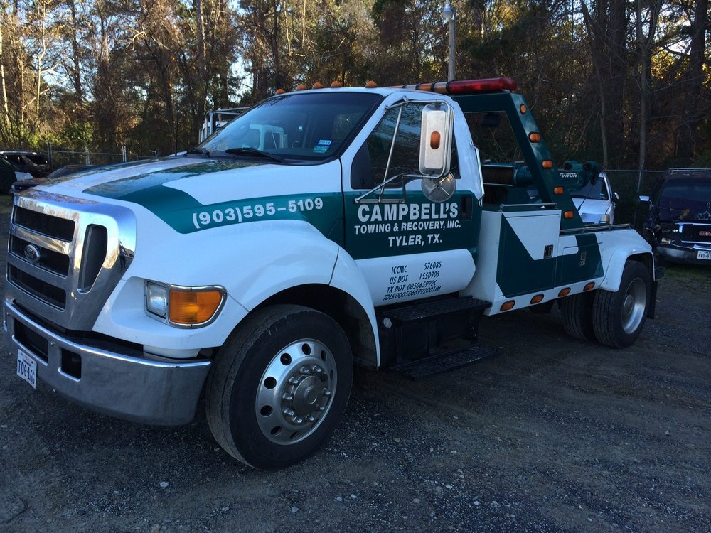 Towing business in Tyler, TX