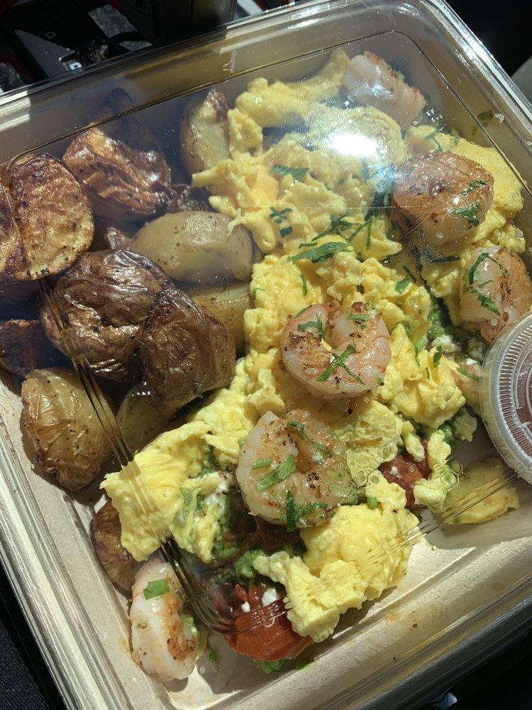vendita all'ingrosso varietà di disegni e colori cerca le ultime Avocado Toast w/ eggs and grilled shrimp. STOLE MY HEART! - Yelp