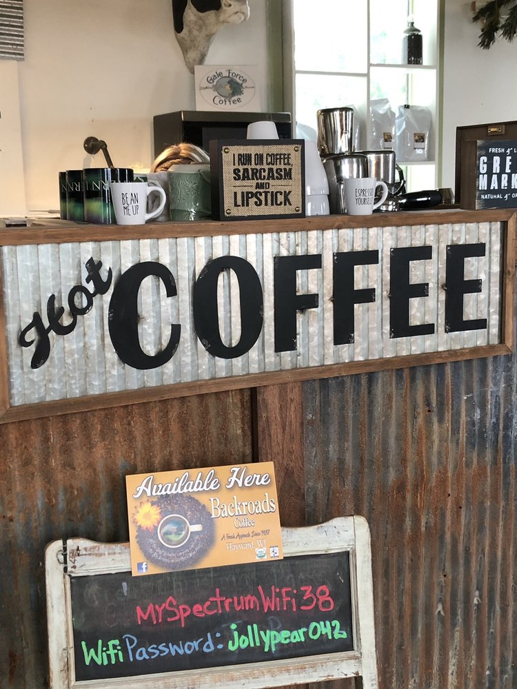 Gale Force Coffee: 10 N 1st St, Bayfield, WI