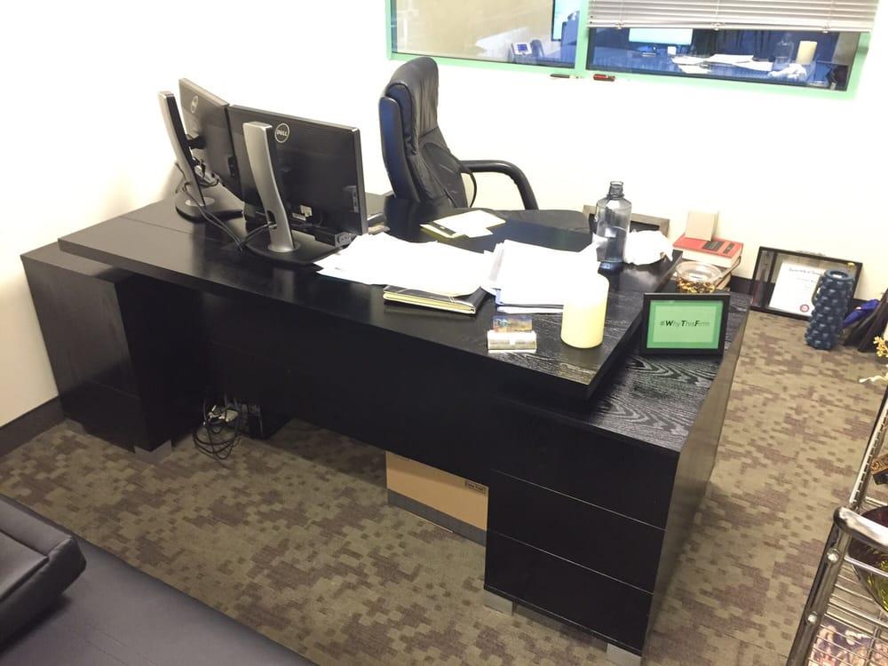 Photo Of Zuri Furniture   Dallas, TX, United States. Black Oak Ford Desk