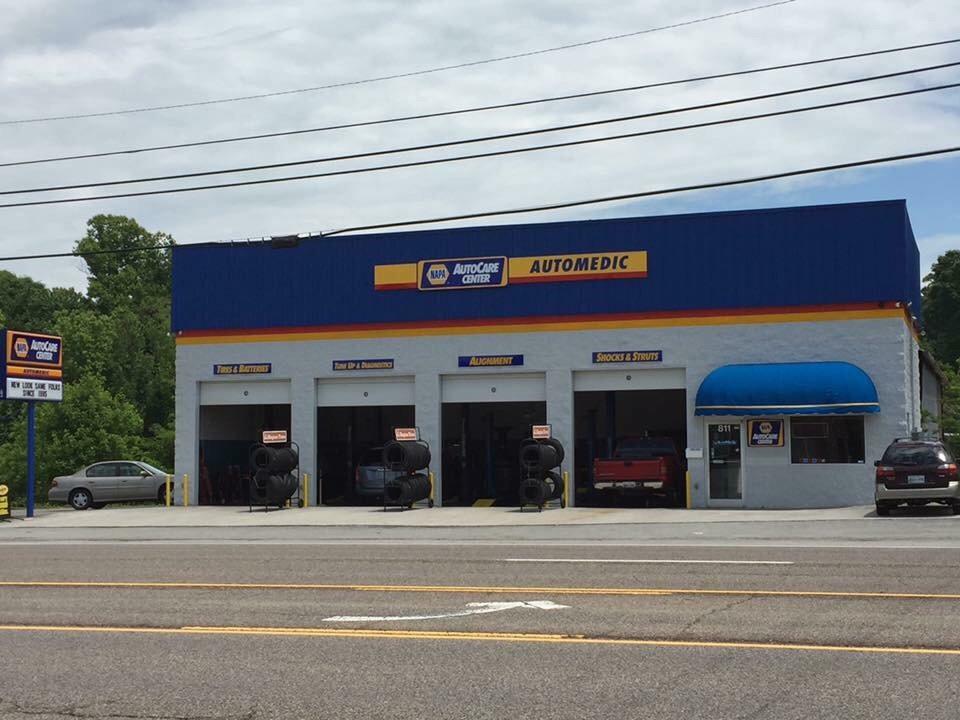 AutoMedic: 811 Clinch Ave, Clinton, TN