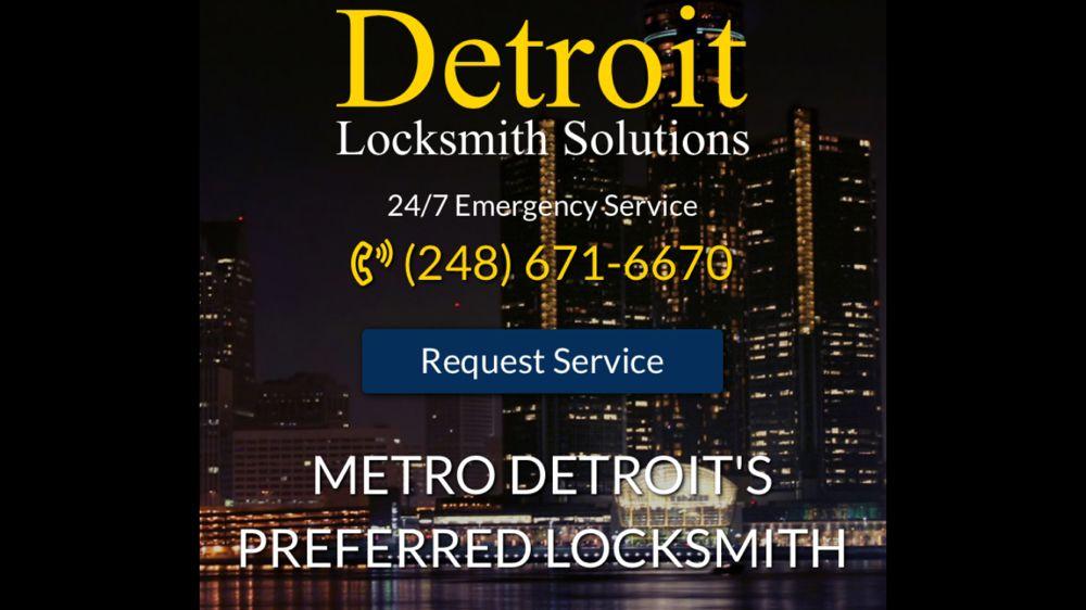 Detroit Locksmith Solutions: Bloomfield Hills, MI