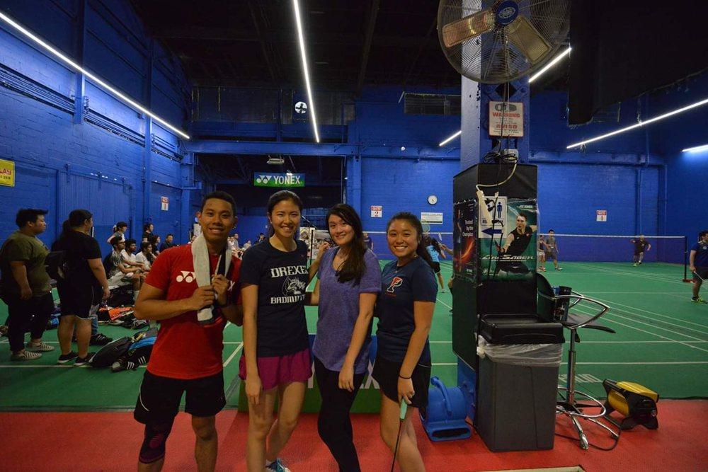 Club28 Badminton Philadelphia: 3559 Edgemont St, Philadelphia, PA