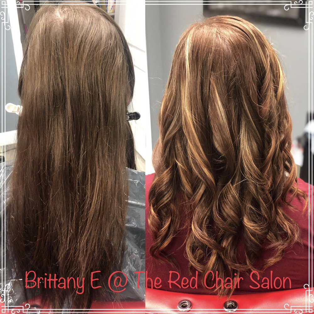 Brittany at the red chair salon: 800 E John Rowan blvd, Bardstown, KY