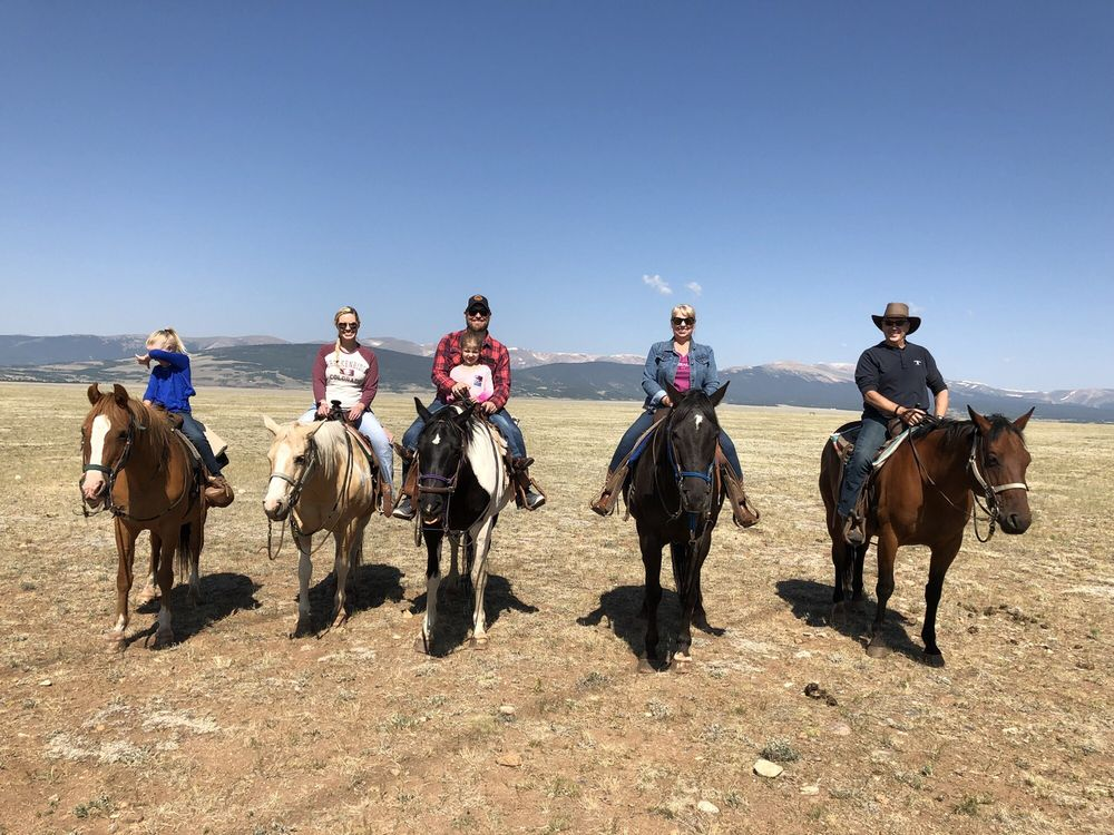 Platte Ranch Double B Riding Stables: Fairplay, CO