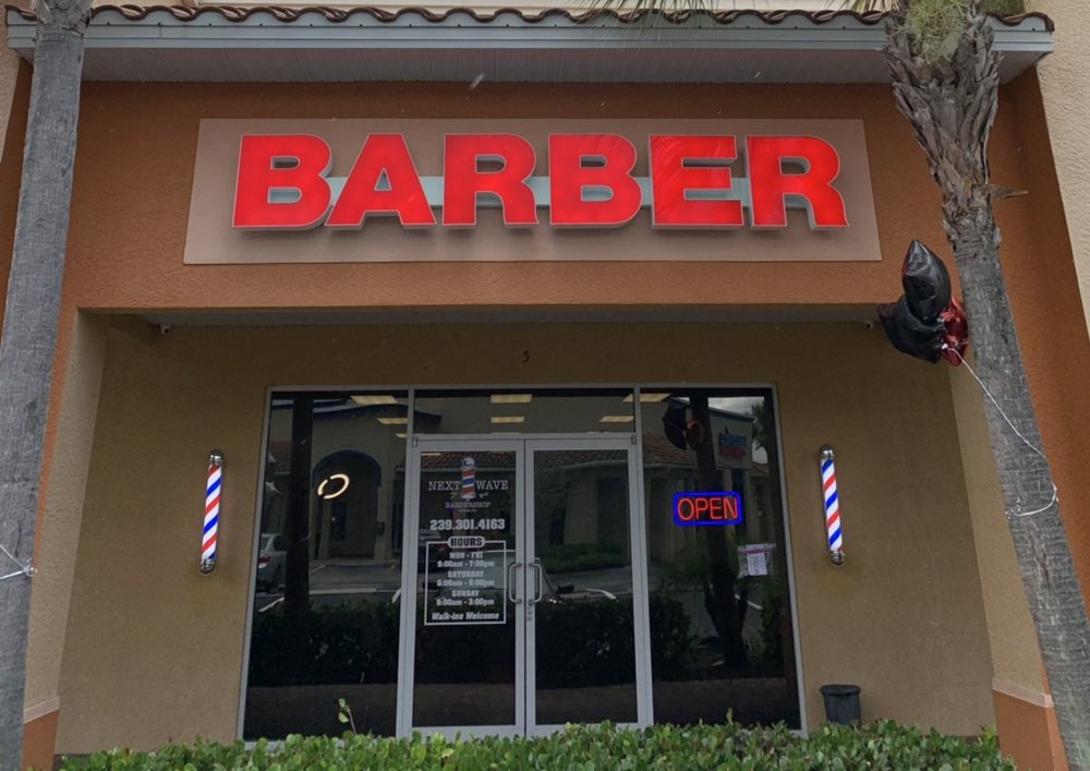 Next wave barbershop: 20451 S Tamiami Trl, Estero, FL