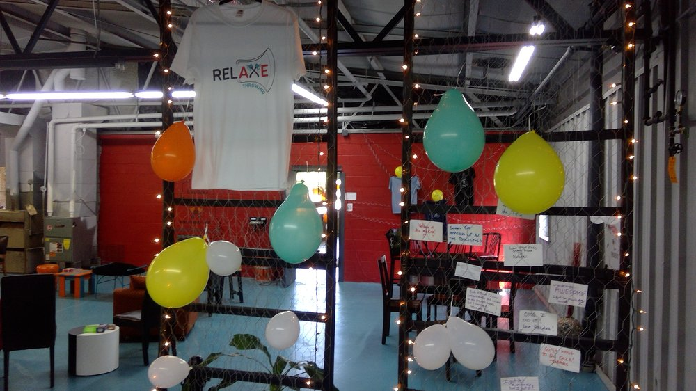 RelAXE Throwing: 157 Gay St, Manchester, NH
